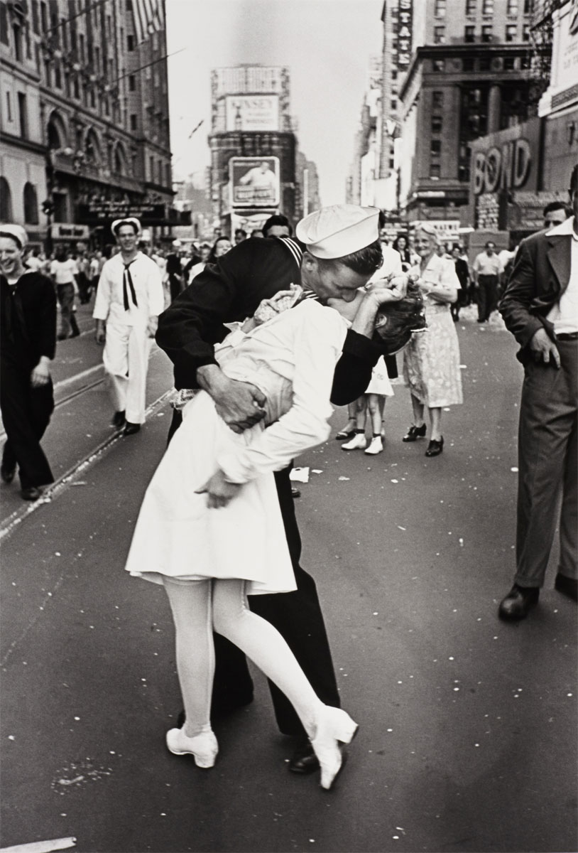 bacio times square Alfred Eisenstaedt