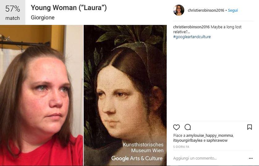 Google Art & Culture Selfie