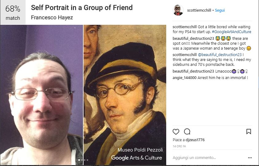 Google Art & Culture Selfie