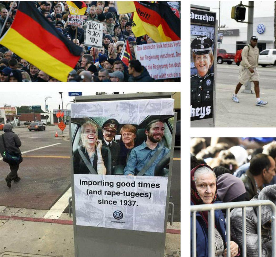 Merkel campagna USA