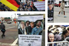 I manifesti contro Merkel e Volkswagen che hanno scosso gli USA