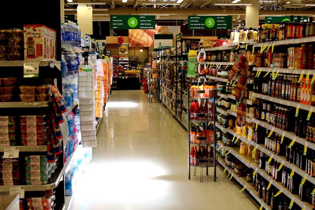 corsia supermercato