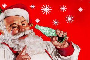 Babbo Natale negli spot Coca Cola