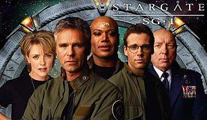 Immagine contenente i protagonisti di Stargate. In stargate l'Artlang è la lingua degli antichi