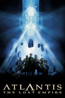 Copertina Film Atlantis Walt Disney. L'Artlang in questione è L'atlantidiano.