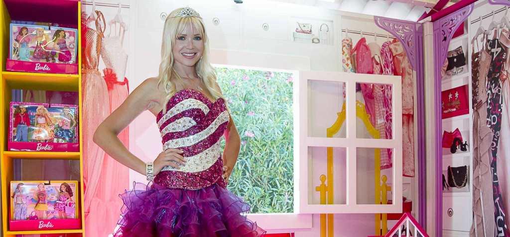 La casa  a tema Barbie