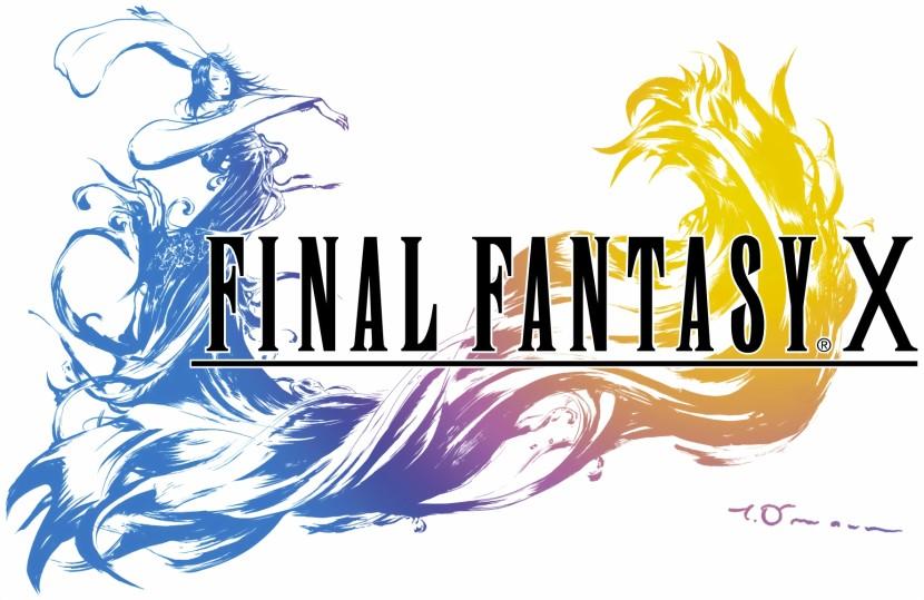 Logo Final Fantasy, il gioco. Artlang in questione è lo spira.