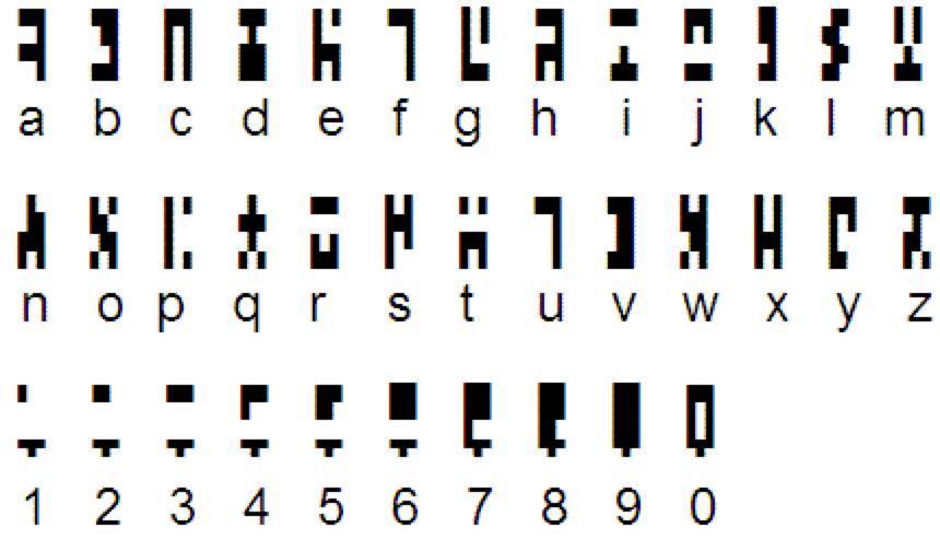 Artlang: alfabeto degli antichi
